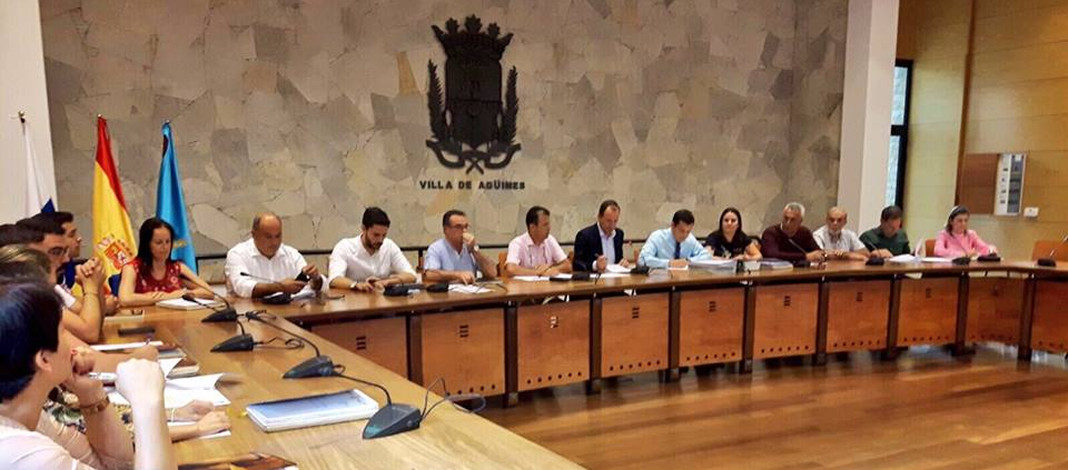 El Ayuntamiento de Agüimes aprueba 38 millones de presupuesto 2018