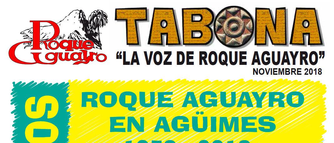 Ya se está repartiendo el Tabona especial 40 años