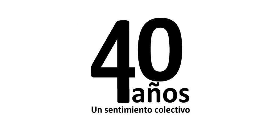 Acto central de celebración del 40 aniversario