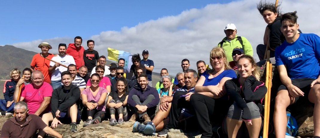 Hoy subimos el Roque Aguayro con motivo de nuestro 40 aniversario