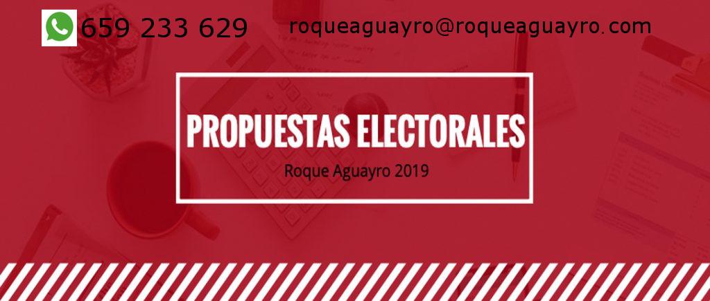 Recuerda que estamos ultimando el programa electoral 2019-2023
