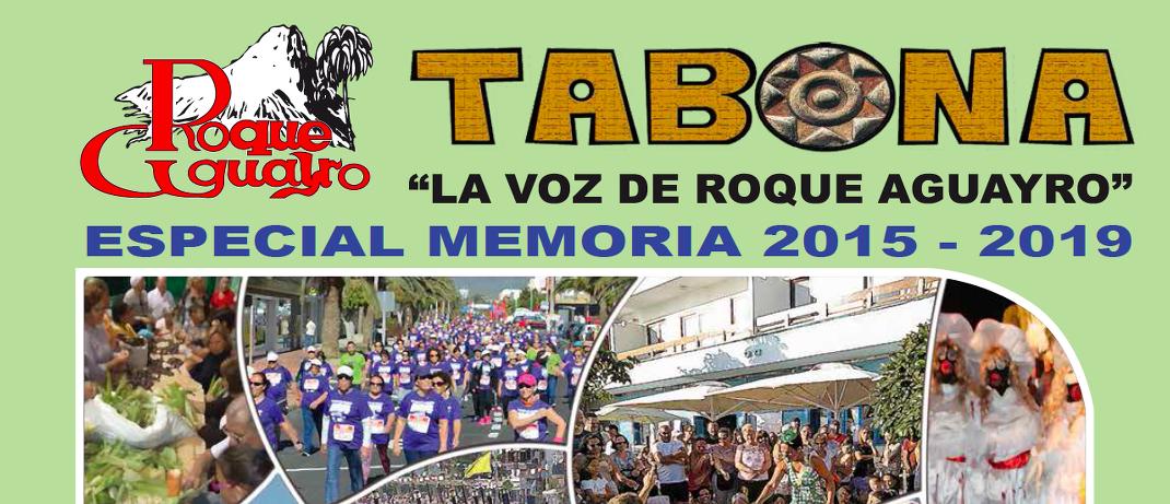 Vea la revista especial TABONA resumen del trabajo realizado 2015-2019