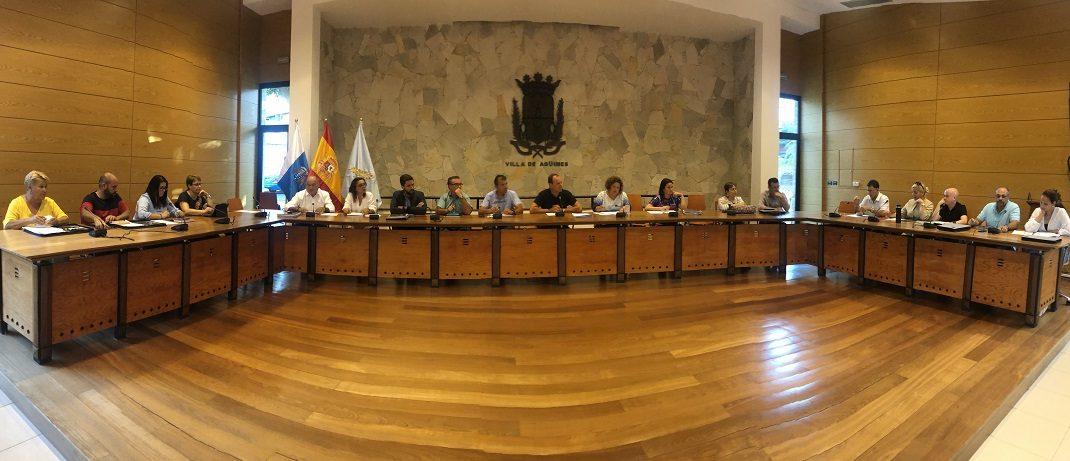 El lunes 27, a las 12 horas, Pleno del Ayuntamiento de Agüimes